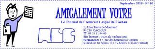 Revue numérique de l'Amicale Laïque de Cachan, 30 activités sportives et culturelles dans le Val-de-marne