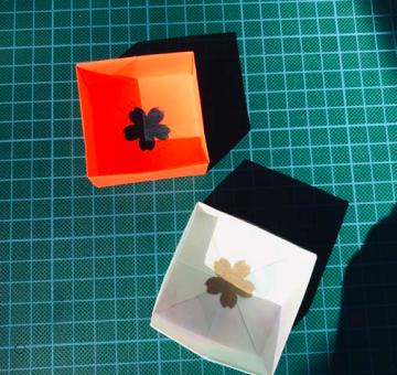 Télécharger le tutoriel pour créer des boites personnalisées en origami